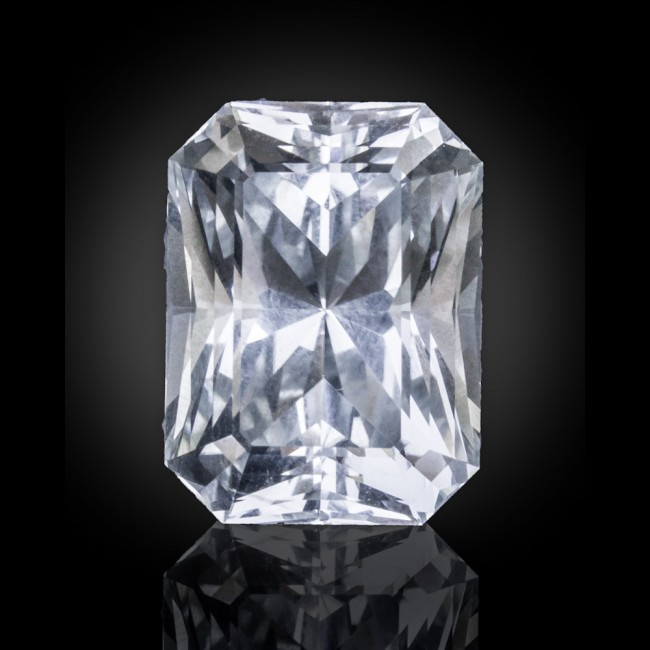 43.65ct Vlt Blue TOPAZ AAA/FL Loose Gemstone Fancy RadiantBrilliant Cut for sale