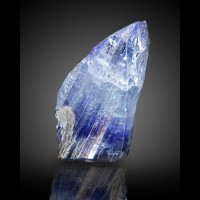 "1.2"" 30.1ct CornflowerBlue TANZANITE Terminated Crystal"