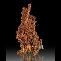 "3.9"" Sharp Intricate Orange COPPER CRYSTALS Cole M Bisbee AZ Pre-1910 for sale"