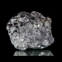 """3.2"""" Rare Cobalt Arsenide Shiny Silver SKUTTERUDITE Crystals Morocco for sale"""