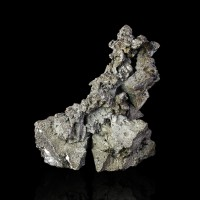 "1.4"" Octahedral ACANTHITE Octahedral Crystals to .6"" Low Luster Morocco for sale"