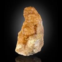 "4.5"" PaleOrangePink GROSSULAR GARNET Hessonite Crystals Asbestos Quebec FOR SALE"
