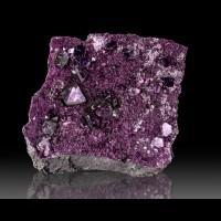 "2.9"" Sharp Royal Purple KAMMERERITE Crystals to 9mm Ex-Al Ordway Turkey for sale"