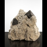 "3.3""  Octahedral MAGNETITE Crystals to 1.1""- Australia"