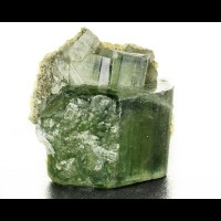"1.5"" Dark Blue Green Gem FLUOR APATITE DT Crystal Panasquiera Portugal for sale"