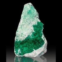 "3.6"" Screamin' Green BROCHANTITE Crystals on Matrix Milpillas Mexico for sale"