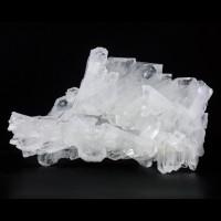 "4.8"" ComplexClear FADEN QUARTZ Multi Crystal Cluster Pakistan No Damage for sale"