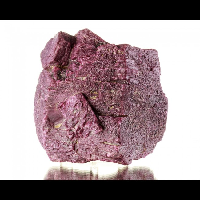 "4.8"" 2.6K 6.2LB Giant RUBY CRYSTAL Blood Red Hexagonal Very Sharp India for sale"
