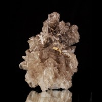 "2.2"" GlossyGray RETICULATED CERUSSITE Complex SixlingTwin Crystals Iran for sale"