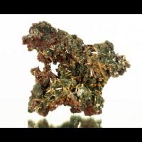 "3.4"" Sharp Yellow WULFENITE Crystals w Green MIMETITE on Matrix Mexico for sale"