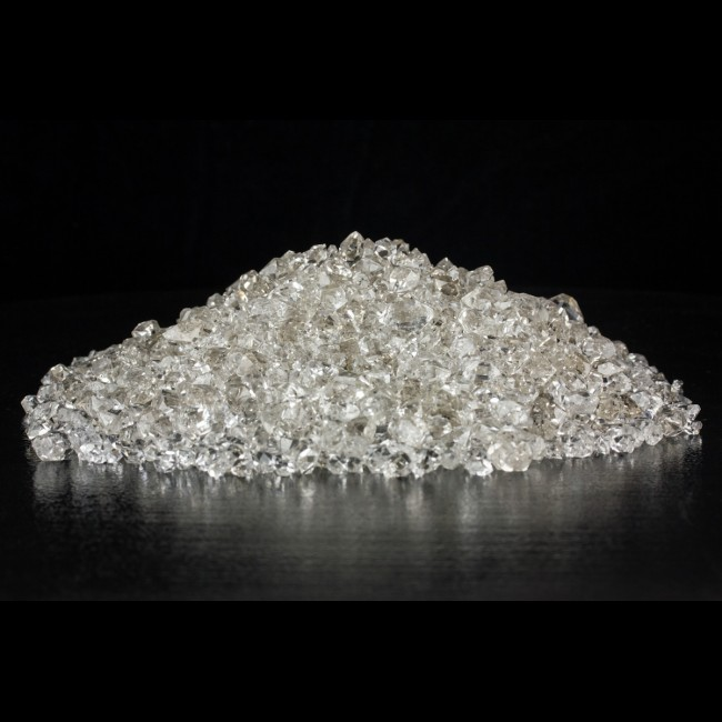 ".1"" to .5"" Water Clear Gem HERKIMER DIAMOND Crystals $50 per Ounce for sale"