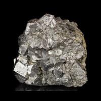 "2.8"" Silver SKUTTERUDITE SharpMetallic Crystals to.7"" Bou Azzer Morocco for sale"