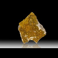 "6.5"" Sharp Flashy Golden Bronze CHALCOPYRITE Crystals Brushy Creek MO for sale"