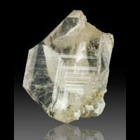 "1.7"" Sharp Clear JAPAN-LAW TWIN QUARTZ Notched Crystal Lincoln NM for sale"