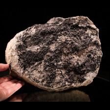 "9"" BABINGTONITE-MA State Mineral-Cheapside Quarry  MA"