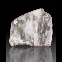 "1.5"" 147ct BriteLilacPink KUNZITE Double Terminated Crystal Afghanistan for sale"