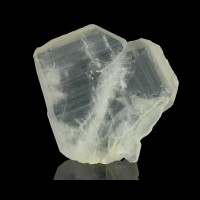 "1.3"" Translucent Heart Shaped JAPAN LAW TWIN QUARTZ Crystal Madagascar for sale"
