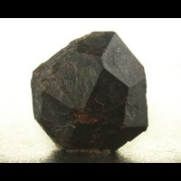 "1.1"" Russell MA Dark Red ALMANDINE GARNET Sharp Dodecahedral Crystal for sale"