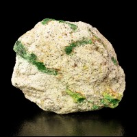 "4.2"" ElectricGreen SZENICSITE Crystals Signed Terry Szenics Label Chile for sale"