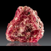 "1.8"" Sharp Gleaming Reddish Pink Octahedral SPINEL Crystal Tanzania for sale"