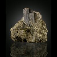 """3.5"""" ShinyGreen EPIDOTE Terminated Crystals Warren NH exErnieSchlichter for sale"""