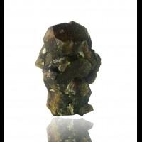 "2.7"" Chocolate Brown VESUVIANITE Sharp Mirror-Luster Crystals China for sale"