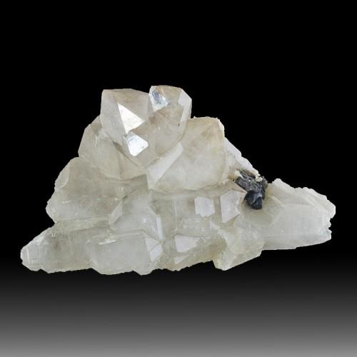 """6"""" Sharp Lustrous TIN CASSITERITE Crystals on..."""