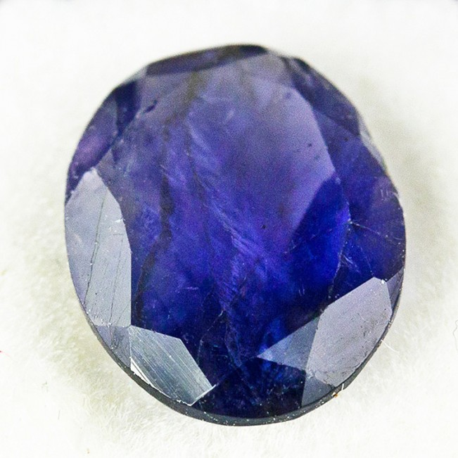 10mm 1.23ct Oval Cut Blue/Purple TANZANITE Loose Gemstone Tanzania for sale