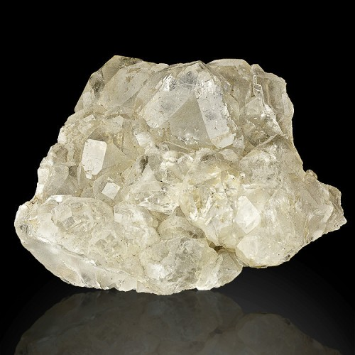 """3.8"""" Cube Octahedral Gem CLEAR FLUORITE Cryst..."""