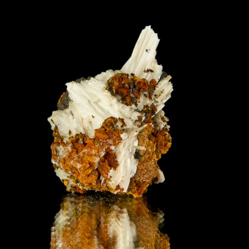 """2.1"""" Snow White Fibrous CERUSSITE Crystals on..."""