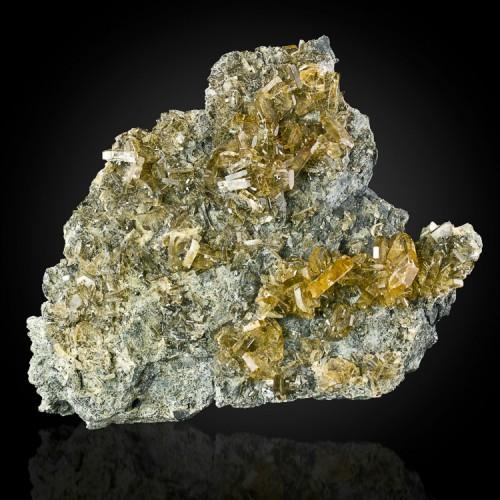 """4.8"""" Rust Bucket Pocket GOLDEN BARITE Crystal..."""