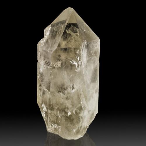 """3.3"""" SMOKY PHANTOM QUARTZ Crystal with White ..."""