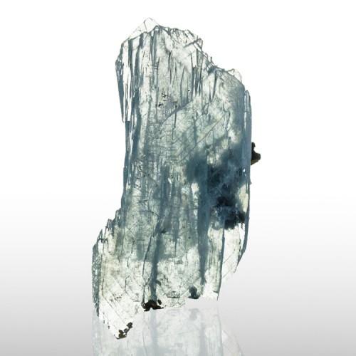 "1.3"" See-ThruTransparent BLUE BARITE Crystals..."