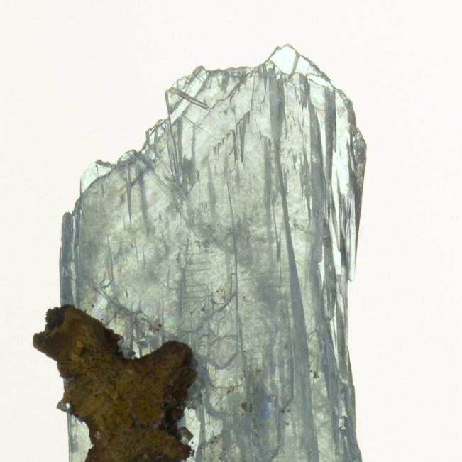 """1.3"""" See-ThruTransparent BLUE BARITE Crystals Double Terminated Morocco for sale"""