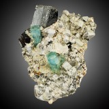 """3.4"""" Sky Blue AQUAMARINE Sharp Gem Crystals w..."""