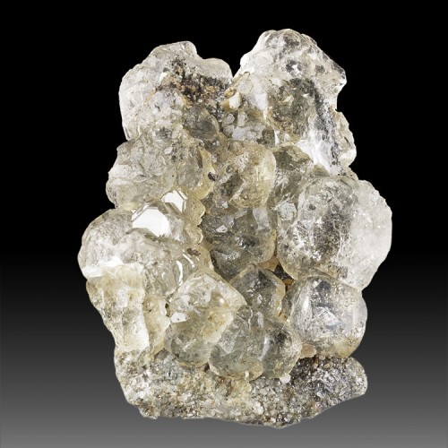 """4.3"""" Water Clear FLUORITE Cube Octahedral Cry..."""