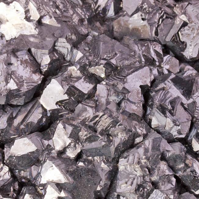 "4"" Modified Octahedral GALENA Shiny Silver Crystals Petrovista Bulgaria for sale"