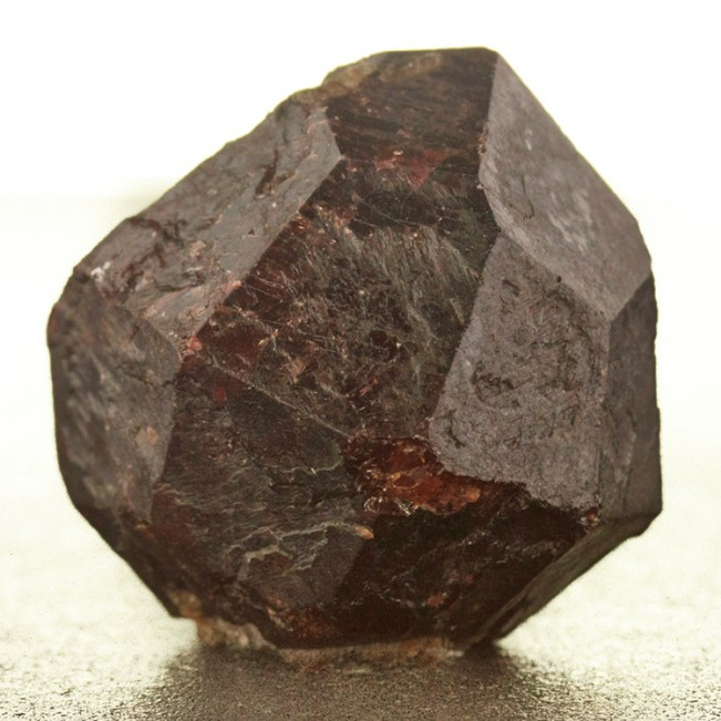 """1.1"""" Russell MA Dark Red ALMANDINE GARNET Sharp Dodecahedral Crystal for sale"""