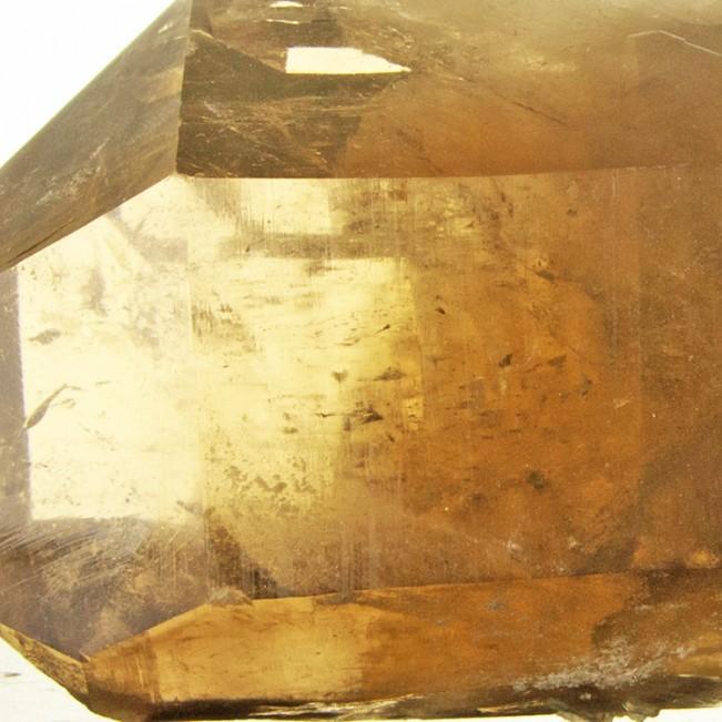 "10.8"" Sharp Gemmy Smoky CITRINE QUARTZ Large Terminated Crystal Brazil for sale"