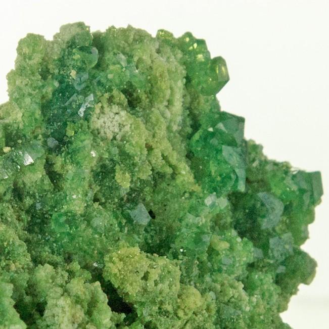 "2.7"" Gemmy BrightGreen DEMANTOID GARNET Crystals on Matrix Madagascar for sale"