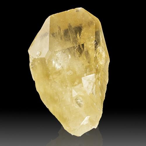 """4.5"""" Gem Clear CITRINE QUARTZ Crystal Wide Ch..."""