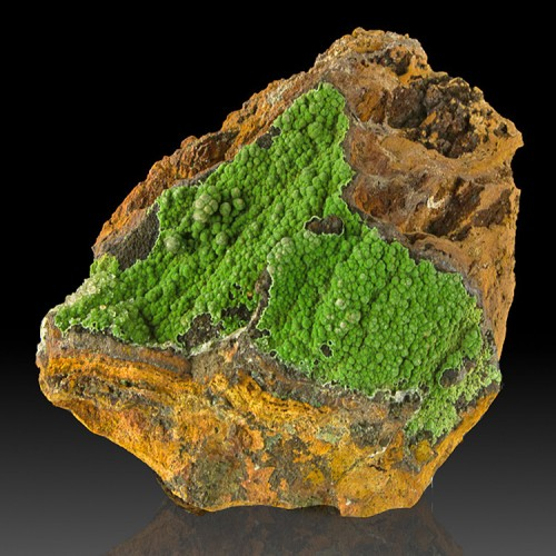 """4.1"""" Saturated Green Botryoidal CONICHALCITE ..."""