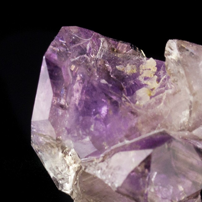 """.9"""" Vivid Purple CONNECTICUT AMETHYST Cluster DoubleTerminated Crystals for sale"""