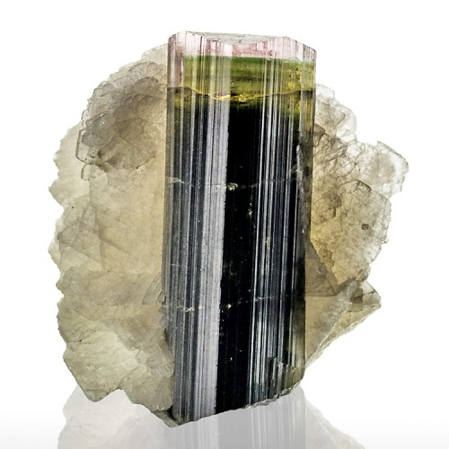 """1.4"""" 83ct TriColor TOURMALINE Terminated Crys..."""