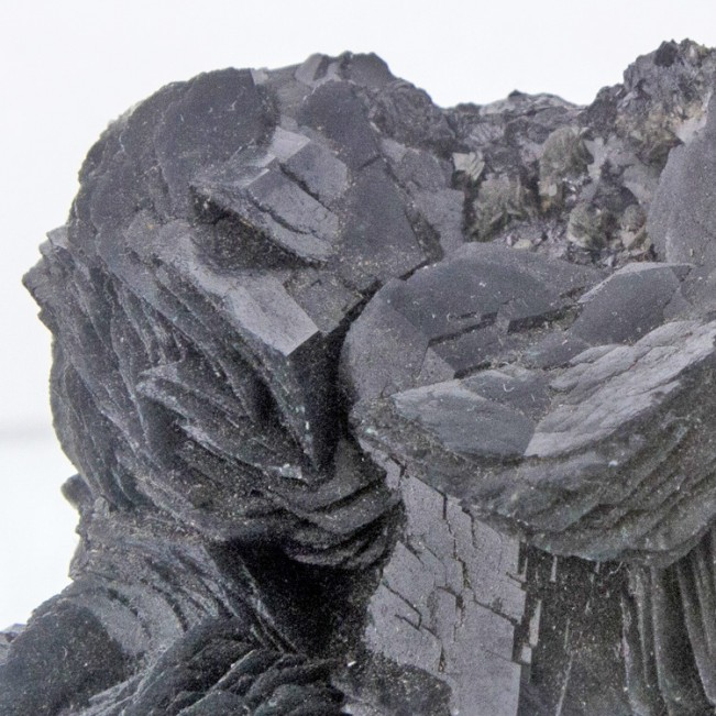 "2.9"" IRON ROSE Crystal Flashy Metallic Silvery Gray HEMATITE Brazil for sale"