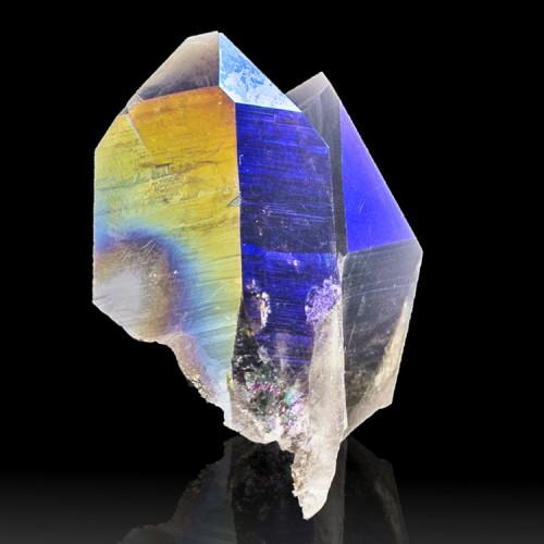 "1.9"" Cobalt Blue +Purple Iridescent ROYAL AUR..."