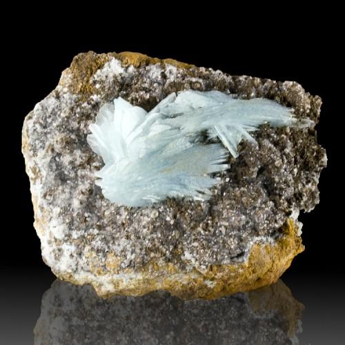 "4.3"" Turquoise Blue BARITE Sharp Glassy Termi..."