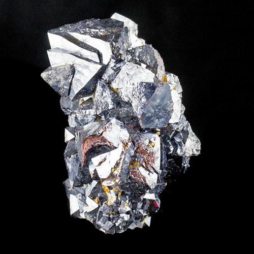 "2"" Mirror Metallic Shiny Octahedral CUPRITE G..."