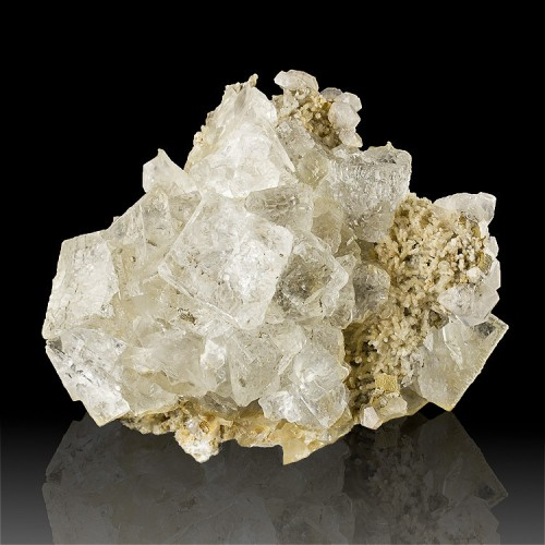"""4.7"""" Water Clear Cubic FLUORITE CRYSTALS to 1..."""
