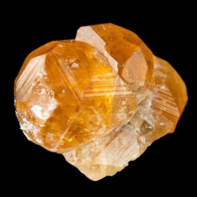 """.9"""" Flashy Gemmy Orange GROSSULAR GARENT Sharp Crystals Asbestos Quebec for sale"""